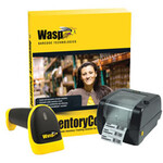 WASP BARCODE [633808920647] - WASP - INVENTORY CONTROL STANDARD WITH WWS550I CORDLESS BARCODE SCANNER AND WPL305 BARCODE PRINTER [633808920647]