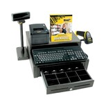 WASP [633808471415] - WASP - QUICKSTORE HARDWARE ONLY BUNDLE WITH RECEIPT PRINTER - BARCODE SCANNER - CASH DRAWER - POS SHOE - POLE DISPLAY AND KEYBOARD [633808471415]