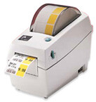 "LP2824 - Zebra 2"" Direct Thermal Barcode Printer USB/Serial"