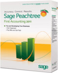 Peachtree 2011 First Accounting - Full Version Retail Box