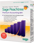 Peachtree 2011 Premium Accounting - Full Version Retail Box - 5 Users