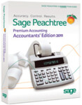 Peachtree 2011 Premium Accountant's Edition - Full Version Retail Box - 1 User