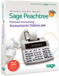 Peachtree 2011 Premium Accountant's Edition - Full Version Retail Box - 5 Users