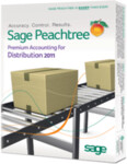 Peachtree 2011 Premium Accounting Distribution Edition - Full Version Retail Box - 1 User