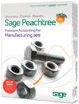 Peachtree 2011 Premium Accounting Manufacturing Edition - Full Version Retail Box - 5 User